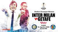 Inter Milan vs Getafe (Liputan6.com/Abdillah)
