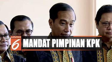 Sebelumnya, tiga pimpinan KPK sempat menyatakan mengembalikan mandat kepada Presiden terkait revisi undang-undang KPK.
