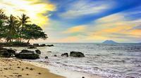Pantai Carita di Banten yang terkena bencana tsunami. (dok.Instagram @https://www.instagram.com/p/BruW0g1nxRS/Henry