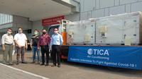 TICA mendukung Ciputra Hospital Memerangi Covid-19 dengan Mendonasikan AHU untuk Ruang Isolasi Bertekanan Negatif. Dok