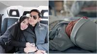 Istri Lukman Azhari, Medina Zein Azhari baru saja melahirkan bayi laki-laki. (Sumber: Instagram/@medinazein)