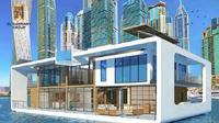 Dubai segera buka resor terapung di atas laut yang diberi nama Sea Palace (Dok.Instagram/@4spacedesign/https://www.instagram.com/p/CEHOpX7Jhsh/Komarudin)