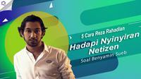 Berikut 5 cara Reza Rahadian hadapi nyinyiran netizen soal Benyamin Sueb.