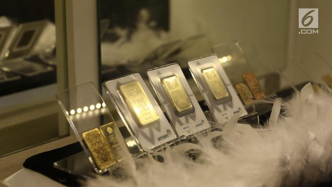 Akhir Pekan, Harga Emas Antam Naik Tipis Rp 1.000 per Gram
