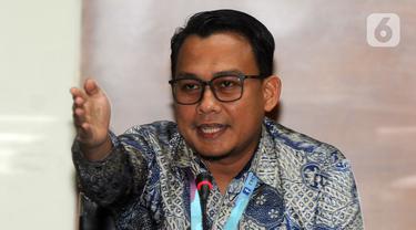 Plt Juru Bicara KPK Ali Fikri di Gedung KPK, Jakarta, Rabu (8/1/2020).