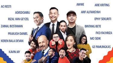 Cuma Jakarta International Comedy Festival yang menghadirkan 100+ komedian lokal dan mancanegara, selama 2 hari kamu akan dihibur komedian dan komika hebat seperti Ernest Prakasa, Raditya Dika, Panji Pragiwaksono Majelis Lucu Indonesia, Aci Resti, da...