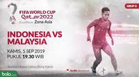 Kualifikasi Piala Dunia 2022 - Indonesia Vs Malaysia (Bola.com/Adreanus Titus)