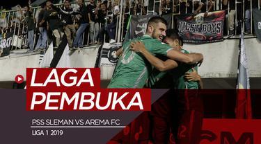 Berita video highlights laga pembuka Shopee Liga 1 2019 antara PSS Sleman vs Arema FC yang berakhir dengan skor 3-1 di Stadion Maguwoharjo, Sleman, Rabu (15/5/2019).