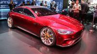 Mercedes-AMG GT Concept diperkenalkan di Geneva Motor Show 2017.