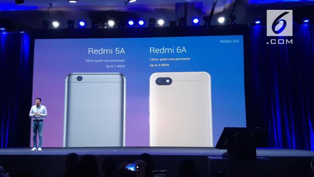 Xiaomi Resmi Lepas Redmi 6a Berapa Harganya Tekno Liputan6 Com