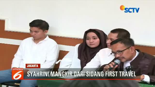 Sidang kasus penipuan First Travel kembali digelar di Pengadilan Negeri Kota Depok, Jawa Barat.