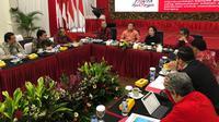 Ketua Umum PDIP Megawati Soekarnoputri bertemu Forum Nasional Profesor Riset (FNPR) di kantor DPP PDIP, Jakarta, Kamis (15/3/2018) siang. (Ist)