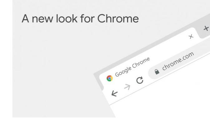 Tampilan baru Google Chrome (Foto: The Next Web)