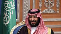 Putra Mahkota Arab Saudi Pangeran Mohammed bin Salman. Ia melakukan tindakan keras terhadap pengusaha dan anggota keluarga kerajaan yang dituduh melakukan korupsi. (AFP PHOTO/FayezNureldine)