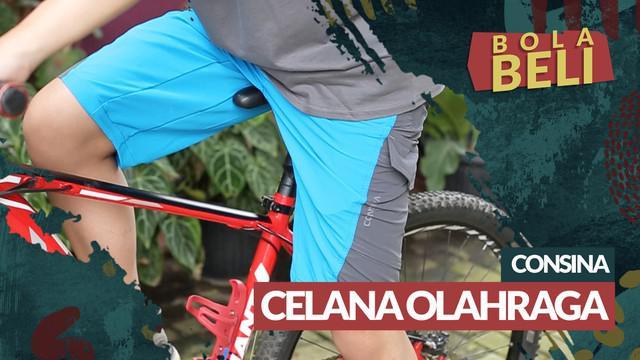 Berita video Bola Beli kali ini mengulas celana olahraga merek Consina yang bisa digunakan untuk bersepeda dan aktivitas outdoor. Apa keunggulannya?