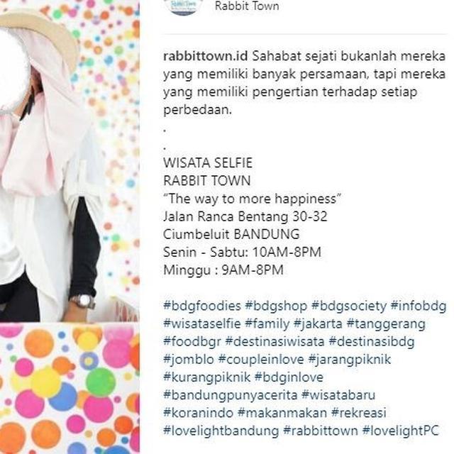 3 Latar Swafoto Rabbit Town Bandung Dinilai Jiplak Karya Seniman