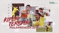 Kiper terbaik Piala Presiden 2019 versi Bola.com.. (Bola.com/Dody Iryawan)