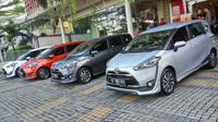 Toyota Sienta (Foto: Septian Pamungkas/Liputan6.com)