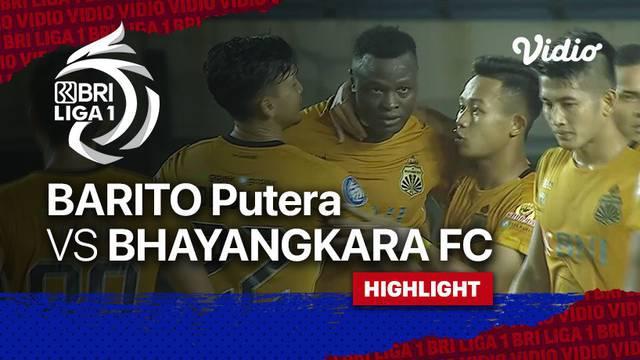 Berita Video, Hasil Pertandingan Bhayangkara FC Vs Barito Putera pada Minggu (3/10/2021)