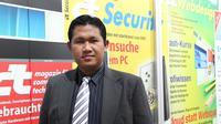 Pakar Keamanan Siber Indonesia, Pratama Persadha. (foto: Liputan6.com/edhie prayitno ige)