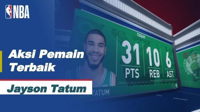 Berita Video aksi-aksi dari Jayson Tatum saat Boston Celtics kalahkan Miami Heat di game kelima final wilayah barat.