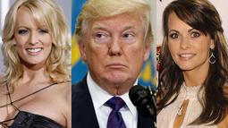 Tak tanggung, dua bintang porno yakni Stormi Daniels dan Karen McDougal mengaku bahwa ia pernah tidur dengan Donald Trump pada tahun 2006. (Salon)