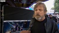 Mark Hamill mengomentari kesannya saat memerankan Luke Skywalker lagi di Star Wars Episode VII. (BBC)