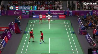 Berita Video Highlights Kemenangan Marcus / Kevin di Final Bulutangkis Ganda Putera Asian Games 2018
