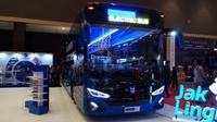 Bus listrik transjakarta akan lakukan uji coba selama 6 bulan
