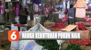 Bawang merah berkisar Rp 30 ribu hingga Rp 32 ribu per kilogram naik hingga Rp 9 ribu dari harga semula.