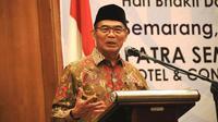 Menko PMK Muhadjir Effendy menerima sejumlah masukan soal stunting dari jajaran Pengurus Ikatan Dokter Indonesia (IDI) Jawa Tengah, di Kota Semarang pada Sabtu (2/11/2019) pagi. (Dok Humas Menko PMK)