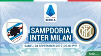 Serie A - Sampdoria Vs Inter Milan (Bola.com/Adreanus Titus)