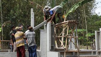 Rumah Tahan Gempa Megathrust untuk Perajin Gula di Pesisir Cilacap