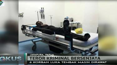 Kontak senjata yang menewaskan Briptu Berry dan melukai empat anggota brimob lainnya tercatat menjadi teror yang ketiga