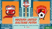 Shopee Liga 1 - Madura United Vs Kalteng Putra (Bola.com/Adreanus Titus)