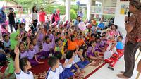 Nestle Indonesia menyelenggarakan kegiatan edukasi mengenai gizi baik untuk masyarakat kelurahan Kebagusan, kecamatan Pasar Minggu.