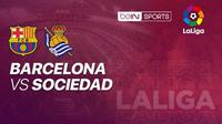 Barcelona vs Real Sociedad (Vidio.com)