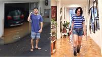 Rumah Yuni Shara dan Nicky Tirta yang kebanjiran (Sumber: Instagram/yunishara36/nickytirta)