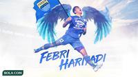 Persib Bandung - Febri Hariyadi (Bola.com/Adreanus Titus)