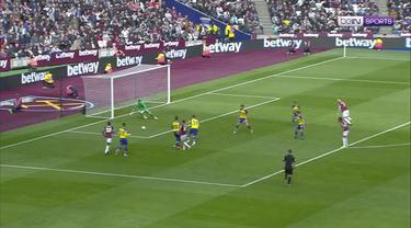 Berita video highlights Premier League 2018-2019 antara West Ham United melawan Southampton yang berakhir dengan skor 3-0 di London Stadium, Sabtu (4/5/2019).