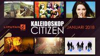 Banner Kaleidoskop Citizen6 Januari 2018. (Liputan6.com/Triyasni)