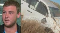 Thomas Mason, pria yang selamat berjalan 60 jam dan mengonsumsi air kencing. (9news)