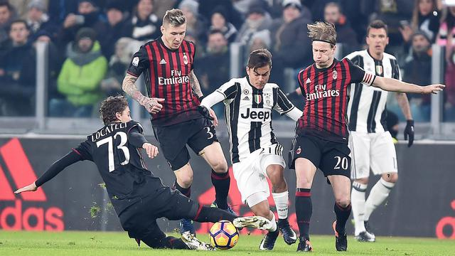 Juventus, AC Milan, Coppa Italia