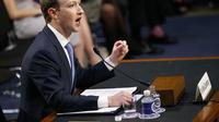 Mark Zuckerberg, Co-founder Facebook. (Liputan6/AP)