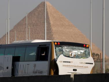 Ledakan Bus Pariwisata di Mesir