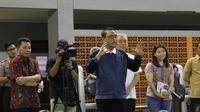Chieff De Mission (CDM) Asian Games 2018 Wakil Kapolri Komjen Pol Syafruddin mengunjungi fasilitas Pelatnas PBSI Cipayung, Jakarta, Rabu (17/1/2018). (Humas PP PBSI)