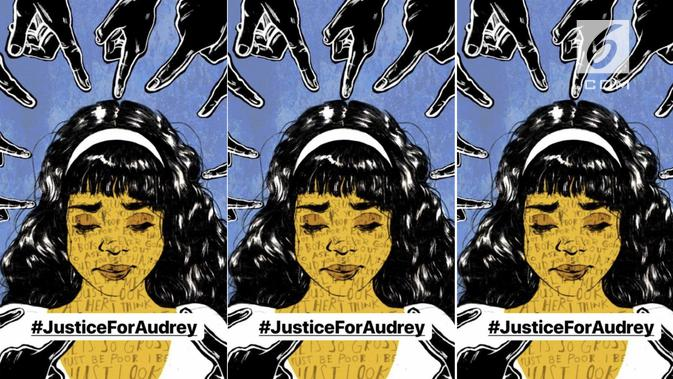 Justice for Audrey (Foto: Twitter)