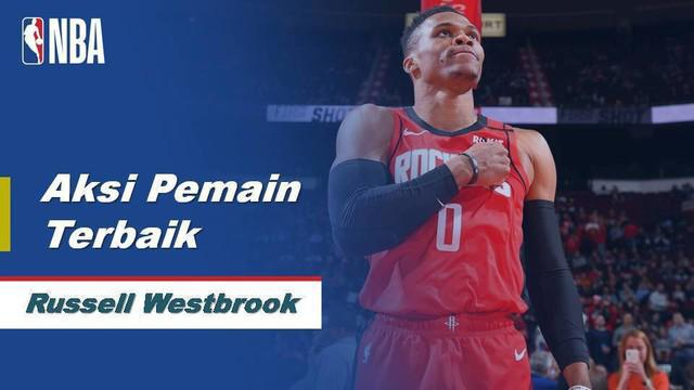 Berita Video Russell Westbrook Bawa Houston Rockets Menang Atas Memphis Grizzlies 140-112