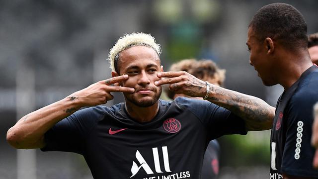 Canda Tawa Neymar CS Jelang Hadapi Rennes