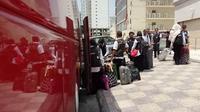 Masa kerja petugas haji di Makkah berakir. (www.haji.kemenag.go.id)
